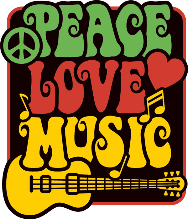Peace, Love, Music image